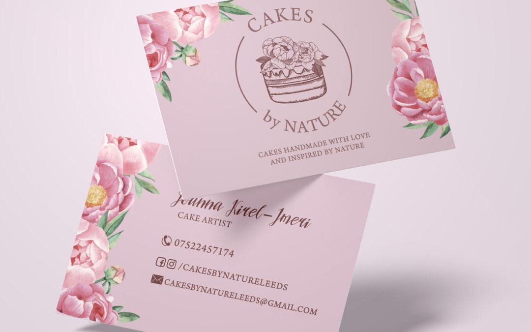Cakes by Nature – wizytówki