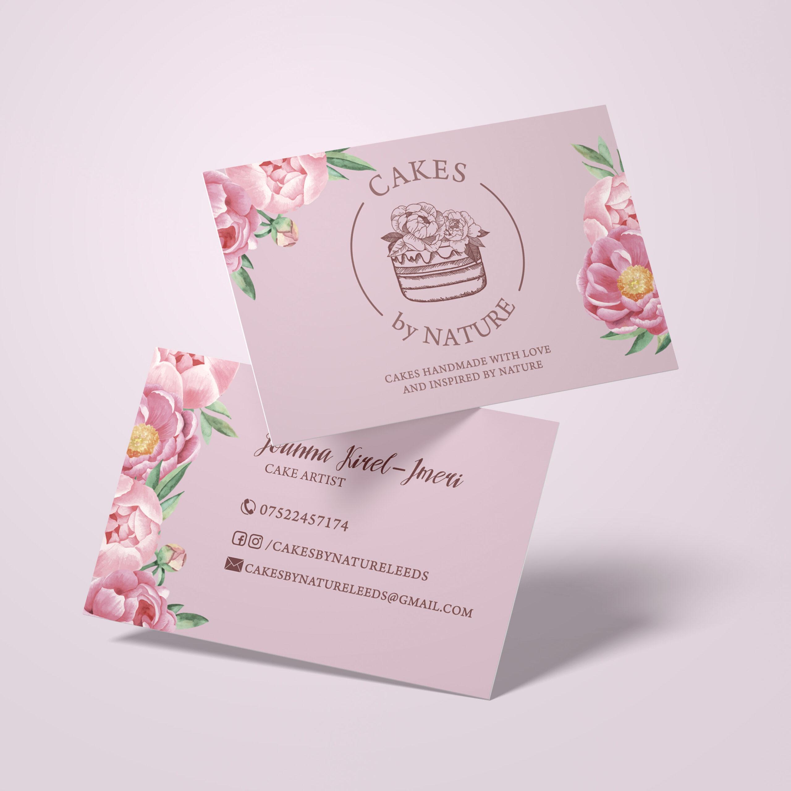 Cakes byNature – wizytówki