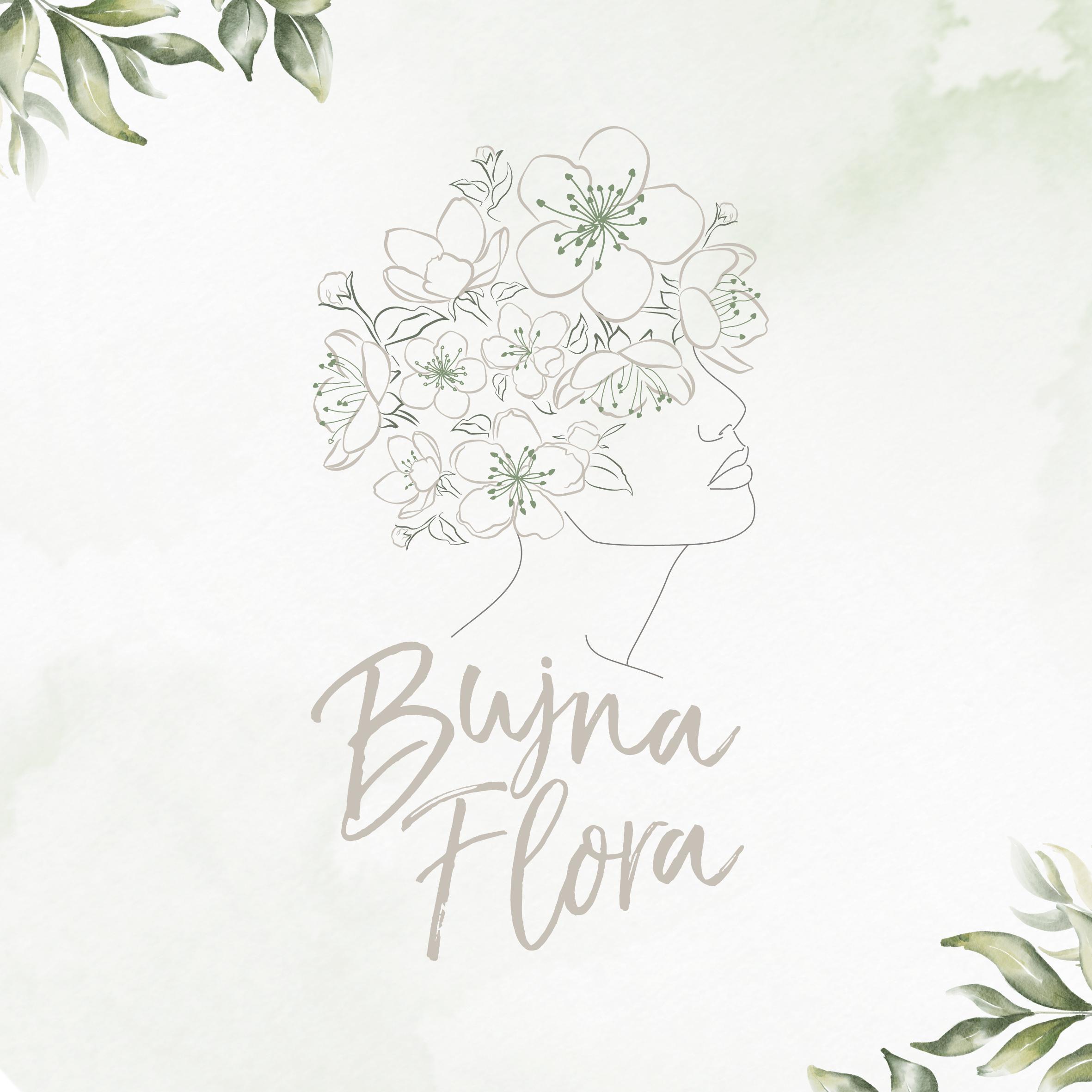 Projekt logo dla Bujna Flora